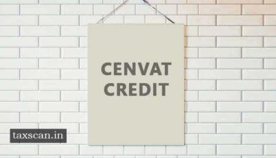 CENVAT Credit - Service Tax