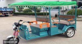 E-Rickshaw - Taxscan