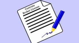 Customs Broker License