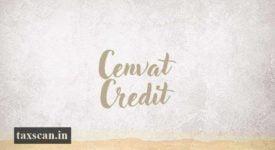 Service Tax - Cenvat Credit - Taxscan