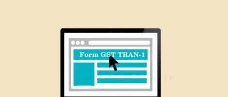 Form-GST- TRAN-1 -Taxscan