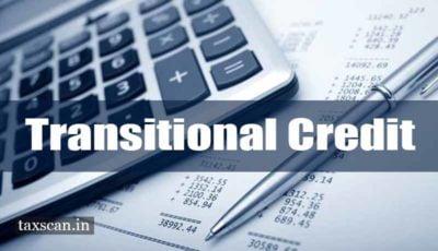 Transitional Credit - GST