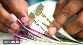 Cash deposited - Taxscan