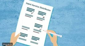 Input Service Distributor - Taxscan