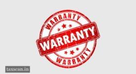 Warranty - Taxscan