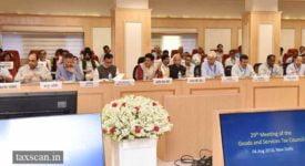 29th GST Council Meeting - Taxscan