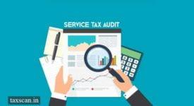 Income Tax - Service Tax Audit - GST - Taxscan