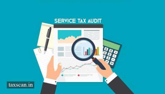Service Tax Audit - GST - Taxscan