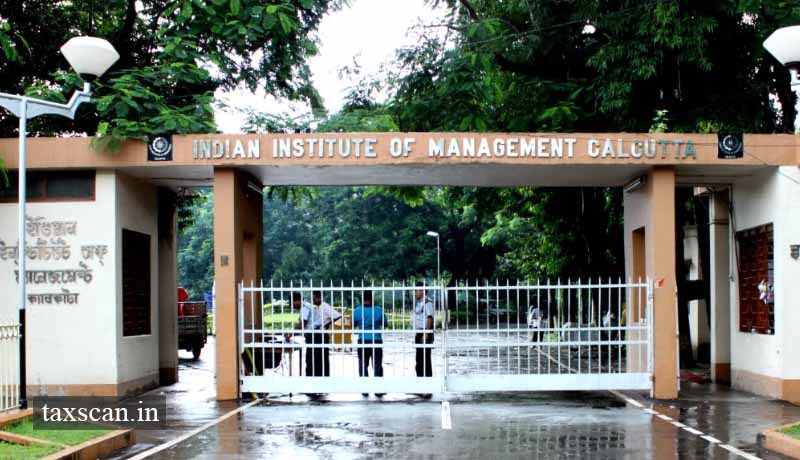 IIM Kolkata - Taxscan