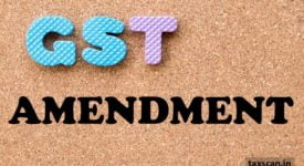 GST Amendment