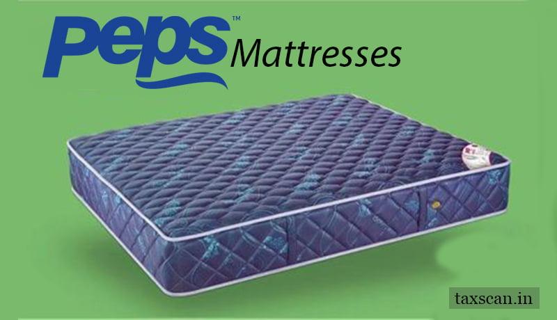 PEPS Mattress - GST - Taxscan