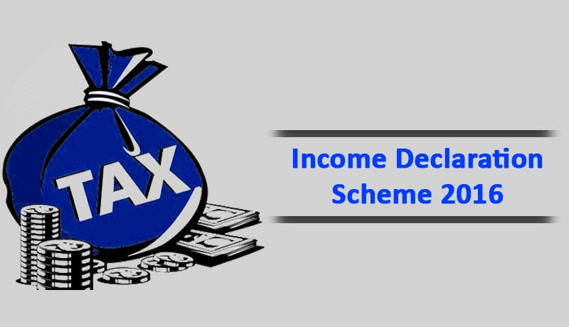 Income Declaration Scheme - Finance Act - taxscan