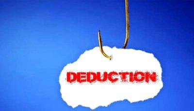 Job Work -Deduction - Interest