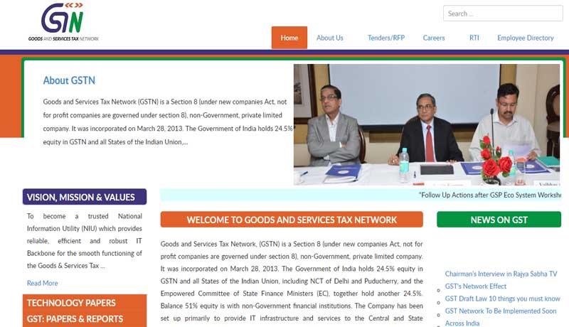 Portal - GST - GSTN - Taxscan