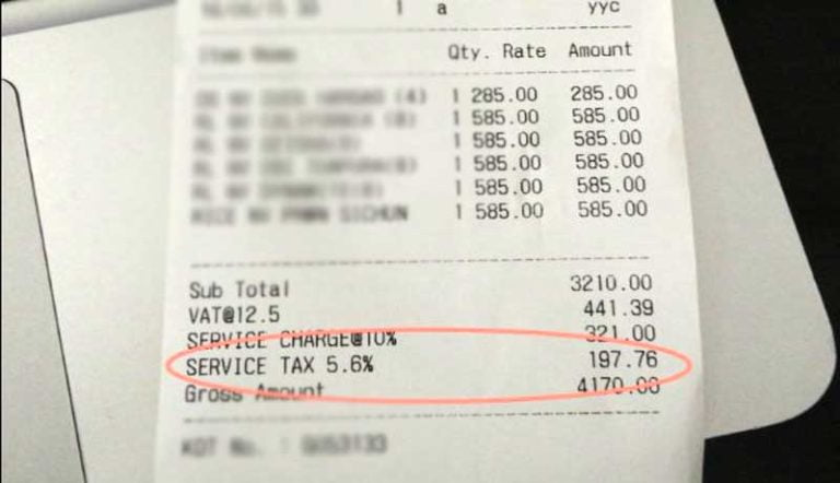 Restaurants Billing 'Service Charges' in addition to Taxes is Optional: Consumer Affairs Department