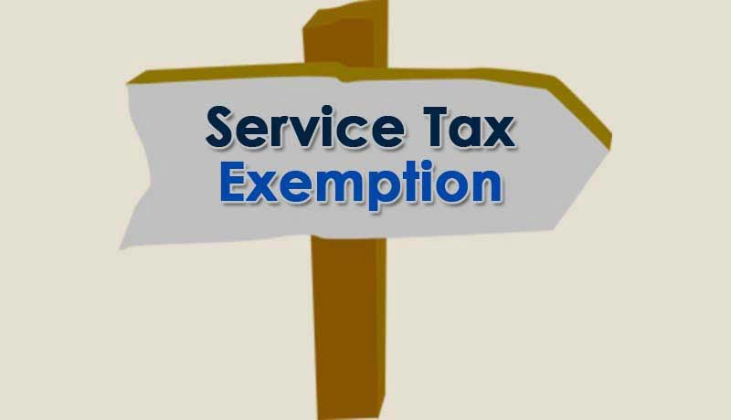 Service tax buildings - Service Tax Exemption