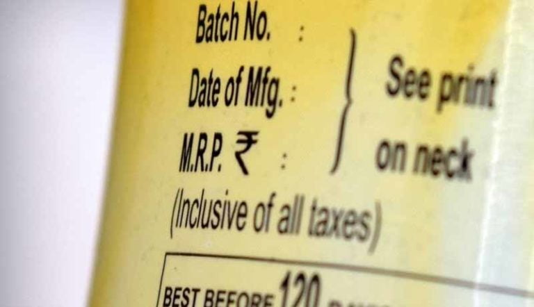 Govt allows change in MRP on Unsold Stock prior to implementation of GST till 30th Sep 2017