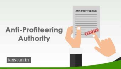 Anti-Profiteering Authority - NAA
