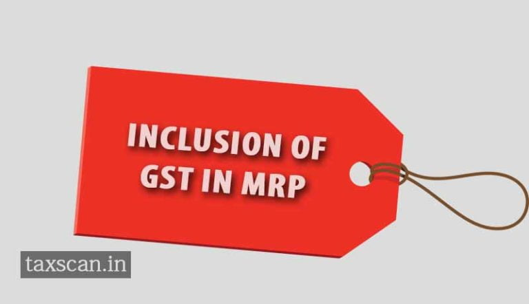 Govt. nod to display revised MRP due to reduction of rates of GST up to 31st Dec, 2017