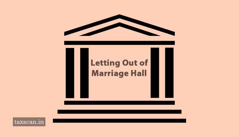 Construction - Marriage Hall - AAR - Taxscan