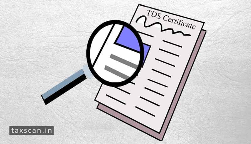 Income Tax TDS Certificate