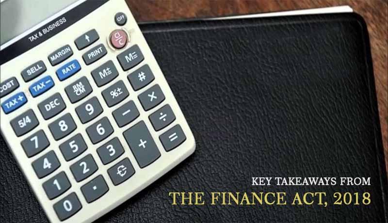 Finance Act 2018 - Takeaways - Taxscan