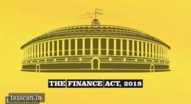 Finance Act 2018 - CBDT