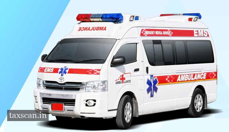 No Service Tax on Ambulance Services provided to Govt by Pvt Service