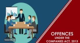 MCA - Offences - Taxscan