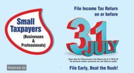 Presumptive Taxation Scheme - Taxscan