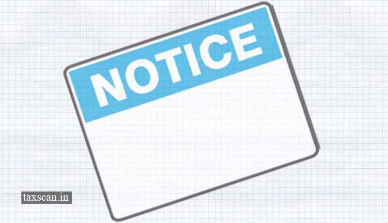Notices - Notice - Taxscan