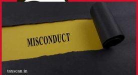 CA Misconduct - Supreme Court - Taxscan