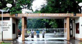 IIM Kolkata - GST