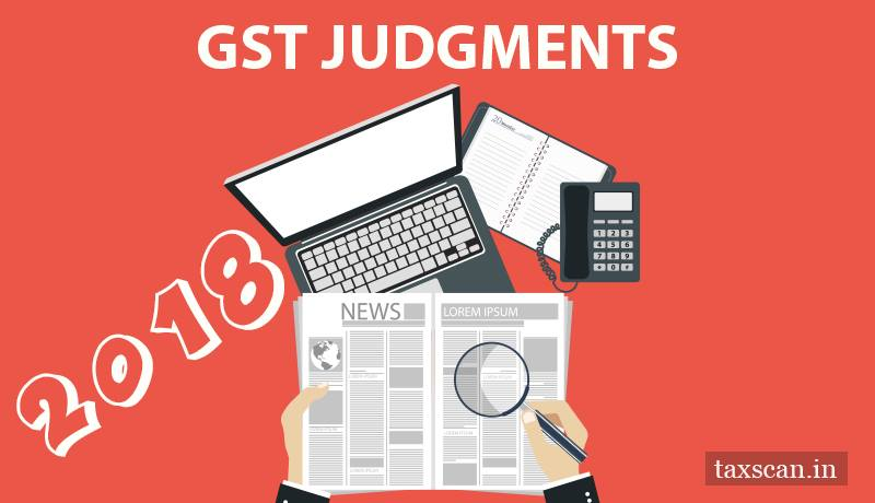 GST judgments