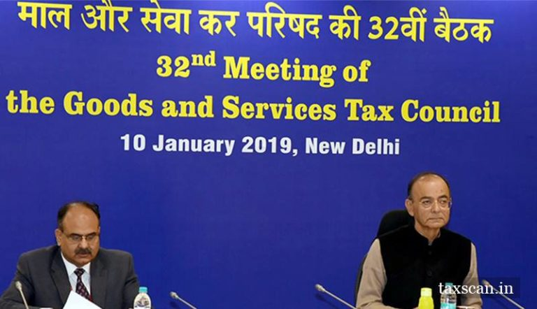 Major Decisions taken in 32nd GST Council Meeting