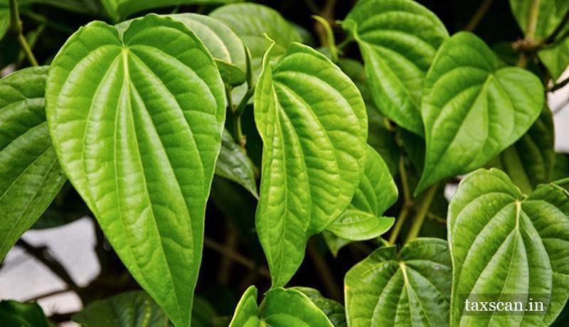 Tendu Leaves - VAT - Taxscan