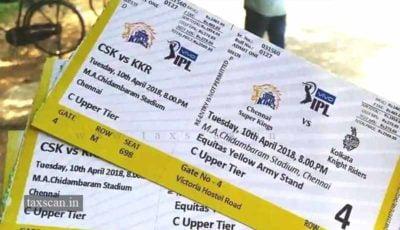 IPL Tickets - Taxscan