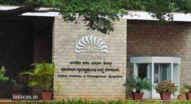 IIM Bangalore - AAAR - GST - Taxscan