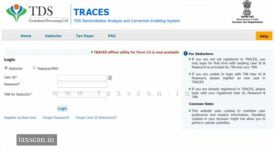 TDS Certificate - TRACES - Taxscan