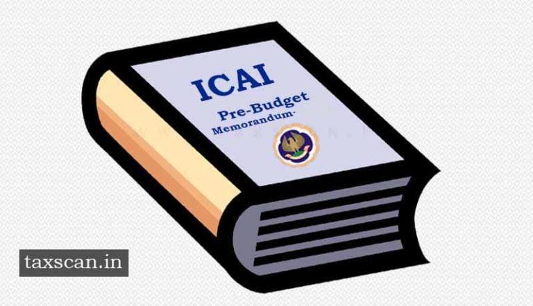 ICAI submits Pre-Budget Memorandum 2019 [Read Memorandum]
