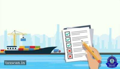 Export Goods - Export Promotion - CBIC - Taxscan