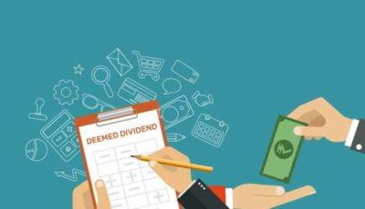 Deemed Dividend - Taxscan