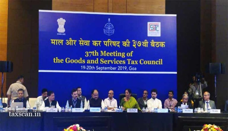 GST Council Recommends reduced GST Rate on Services