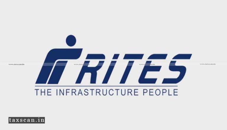 CA / CMA Vacancies in RITES Ltd