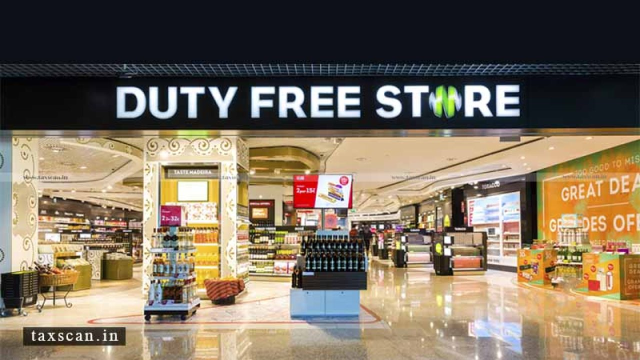 GST not applicable on Duty-Free Shops for Sales to Outgoing ...