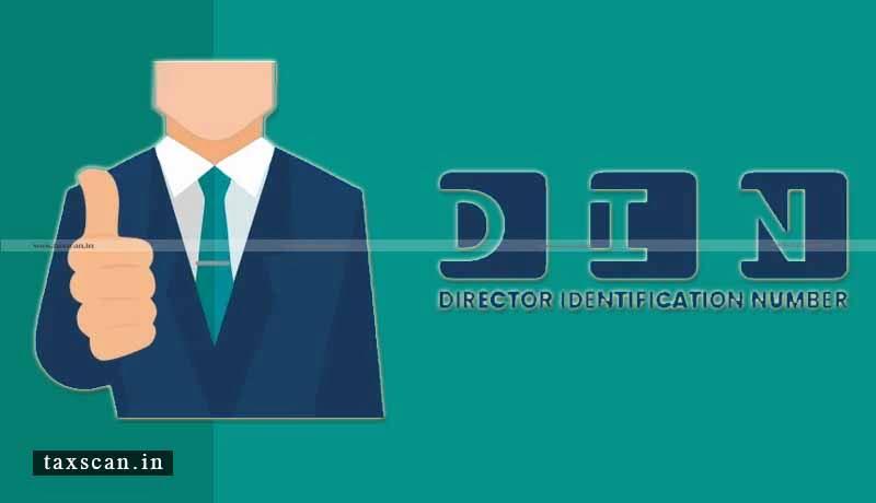 Non-Compliant DINs - MCA - Taxscan