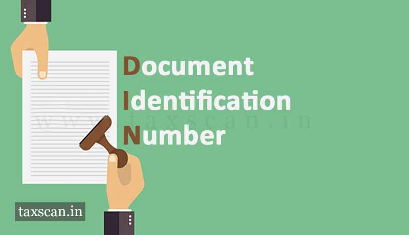 DIN - Documentation Identification Number - Taxscan