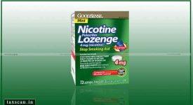 Nicotine Polacriliex Lozenge - GST - Taxscan