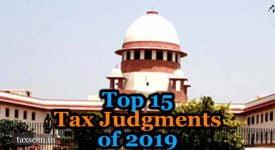 Tax Judgments 2019 - Taxscan
