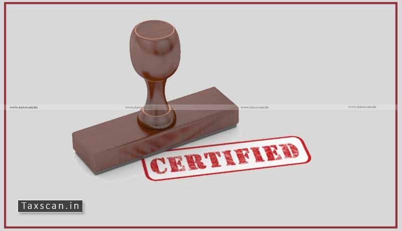 Chartered Accountant's Certificate - Tax Burden - CESTAT - Taxscan
